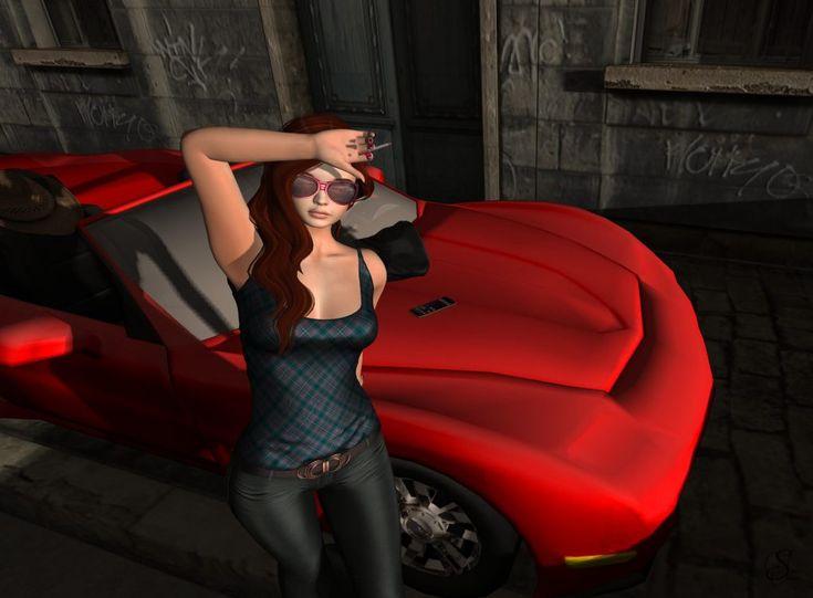Me and my car – Look #1609 – Syleena Sheridan