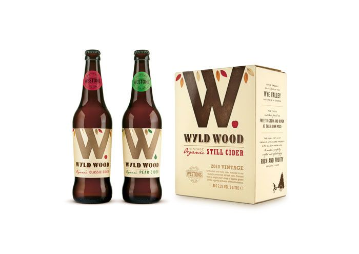 Pearlfisher Re-brands Westons Cider as Wyld Wood