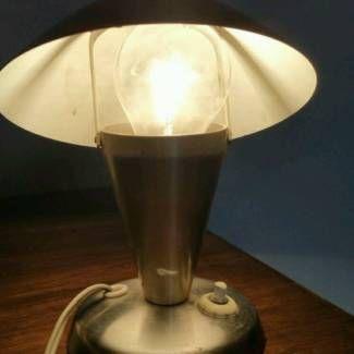 Czech Napako N12 Art deco Bauhaus side table lamp in Bayern - Waldkirchen | Lampen gebraucht kaufen | eBay Kleinanzeigen