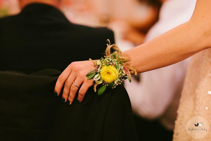 INNA Studio_wedding / detal / bransoletka / fot. Bajkowe Śluby