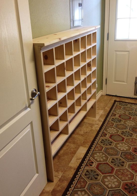 Shoe Cubby Mail sorter