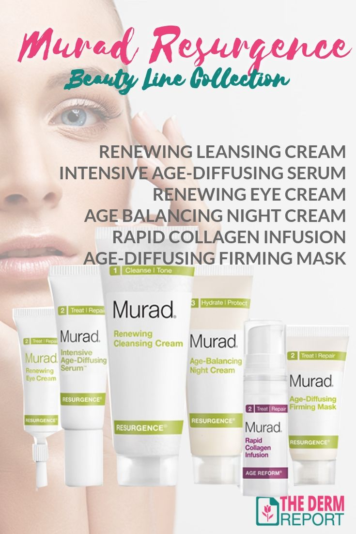 Murad Resurgence Reviews of the Entire Resurgence Beauty