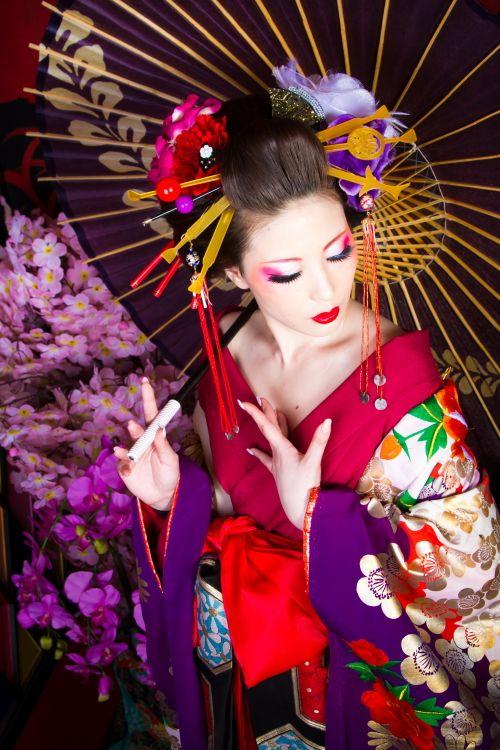 花魁 着物 kimono
