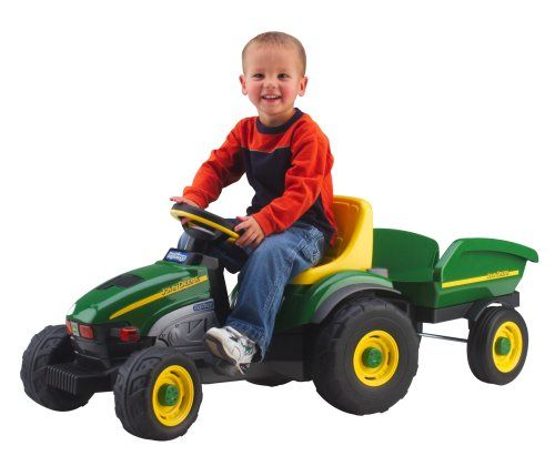 Peg Perego John Deere Farm Tractor and Trailer | Your #1 Source for Toys and Games