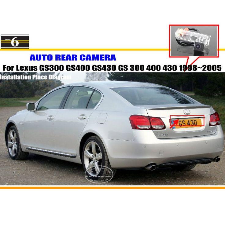 Камера автомобиля Для Lexus GS300 GS400 GS430 GS 300 400 430 1998 ~ 2005/Камера Заднего вида HD CCD RCA NTST PAL/Освещение Номерного Знака OEM