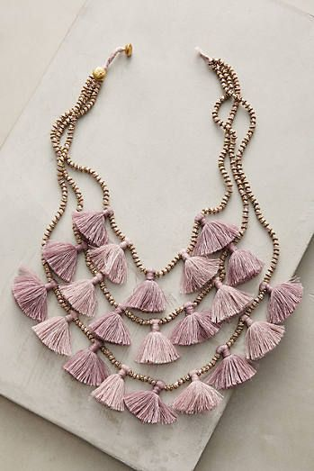Gia Layered Bib Necklace