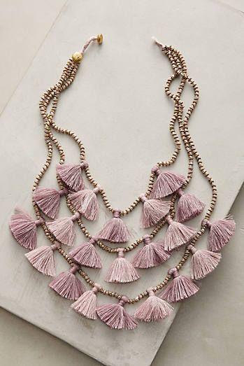 Gia Layered Bib Necklace