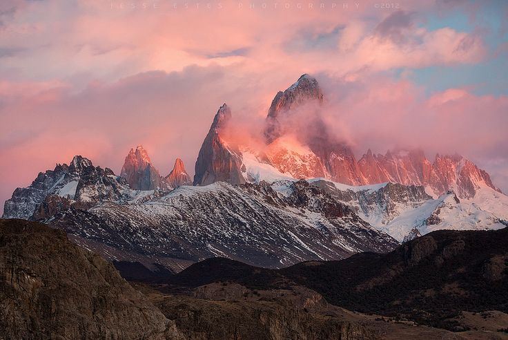 Mount Fitzroy, Argentina. The 25 Places you Must Visit in South America