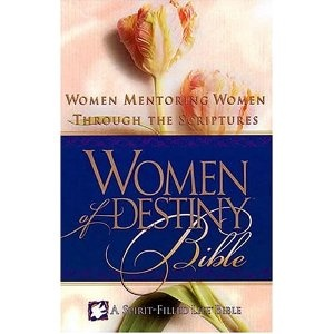 Women of Destiny Bible: Women Mentoring Women Through the Scriptures (New King James Version)