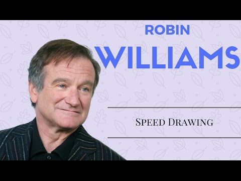 Speed Drawing in memory of Robin Williams