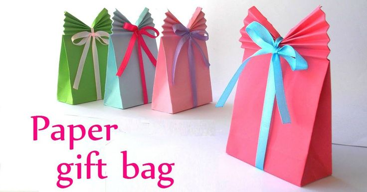 Hate Wrapping Presents? Make A Gift Bag Instead With Just A Few Simple Folds!