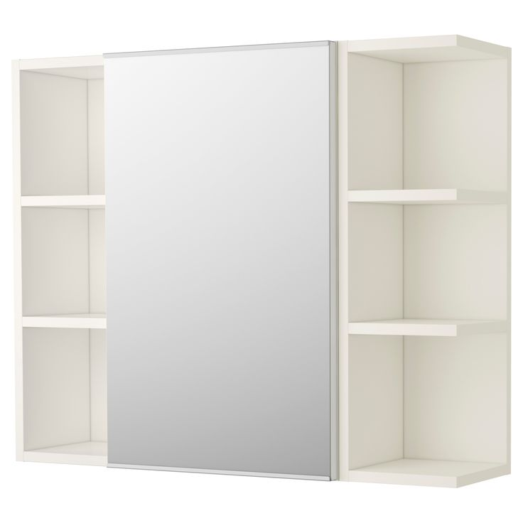 LILLNGEN Mirror Cabinet 1 Door 2 End Units