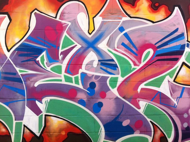 La Brea Alley Graffiti