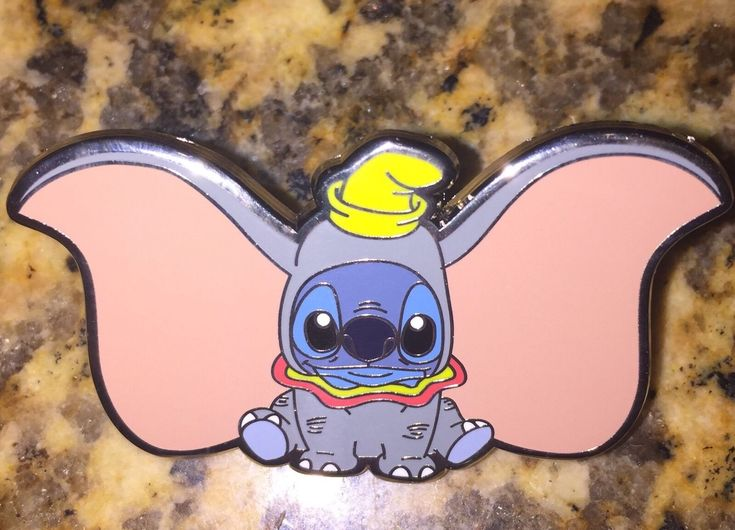 FANTASY PIN LE 100 Disney Stitch Dressed As Dumbo Mashup Costume Invasion - $39.95. ****this is not an OFFICIAL Disney Pin**** this is fan made Limited edition 100 2 inches Silver metal Stitch dressed as Dumbo (2 inches wide) 372215808288