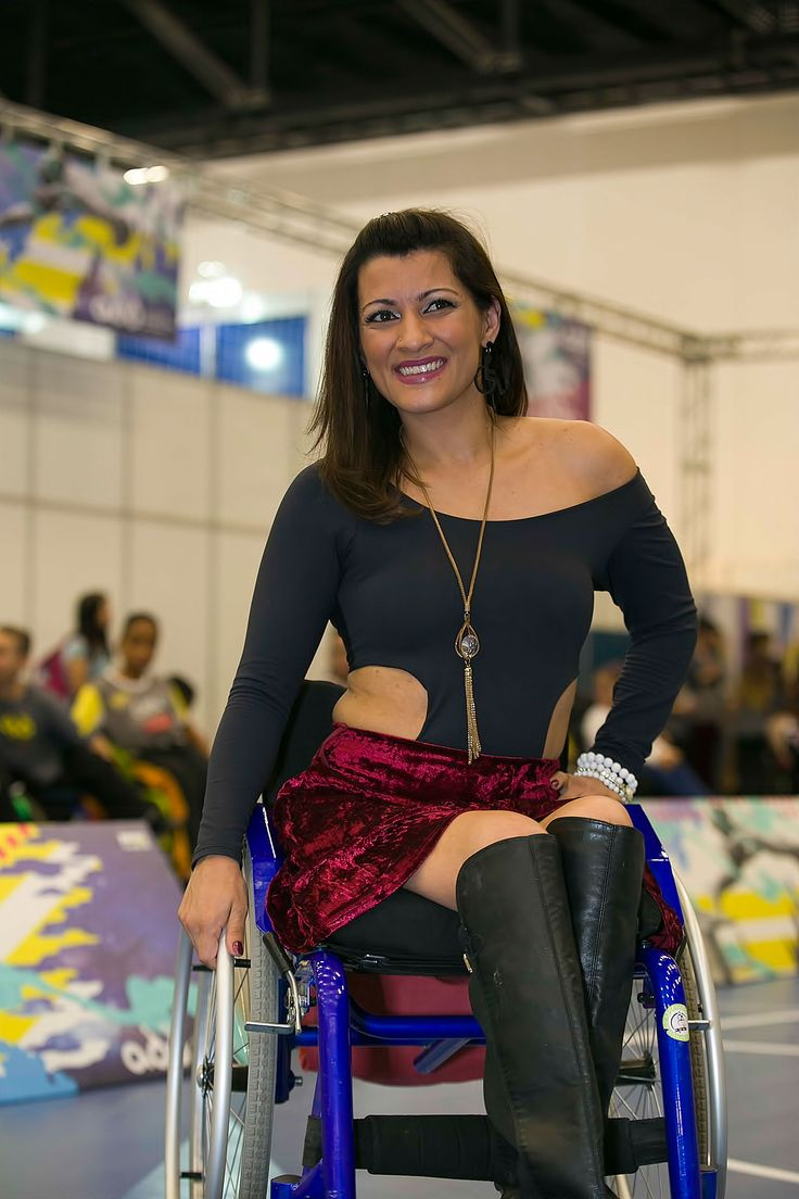 Wheelchair woman paraplegic