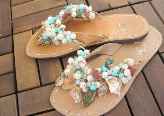 NEW  Iolanthi   Natural Color Greek Leather sandals by sivylla