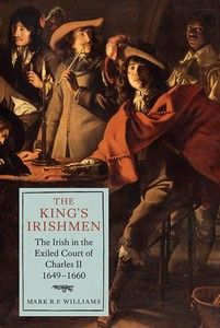 We are delighted to see that Mark Williams' book The King's Irishmen: The Irish in the Exiled Court of #CharlesII, #1649-#1660 has been shortlisted for the #RoyalHistoricalSociety's 2014 #Whitfield #Prize. Congratulations to Dr Williams. The winner will be announced at the end of May. #earlymodernhistory