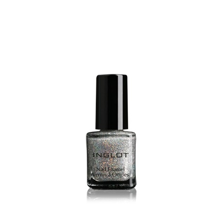 Inglot Cosmetics Dream Collection Nail Enamel... used as topcoat over white or silver tips. Finger and toes nails. £8.