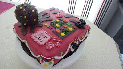 Mes créations pâtissières: Gâteau pour un accro à Candy Crush