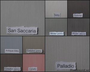 KALKLITIR Värikarta