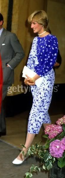 1983-05-24 Diana at the Dorchester Hotel for the Piper Champagne National Hunt Awards: