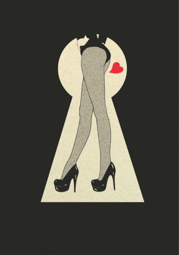 Charaktery magazine, Fetish by Magdalena Pankiewicz, via Behance