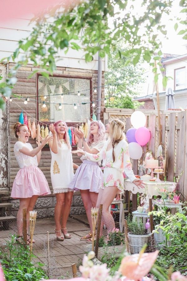 297 best images about bride squad on pinterest bespoke for Garden pool party 2015