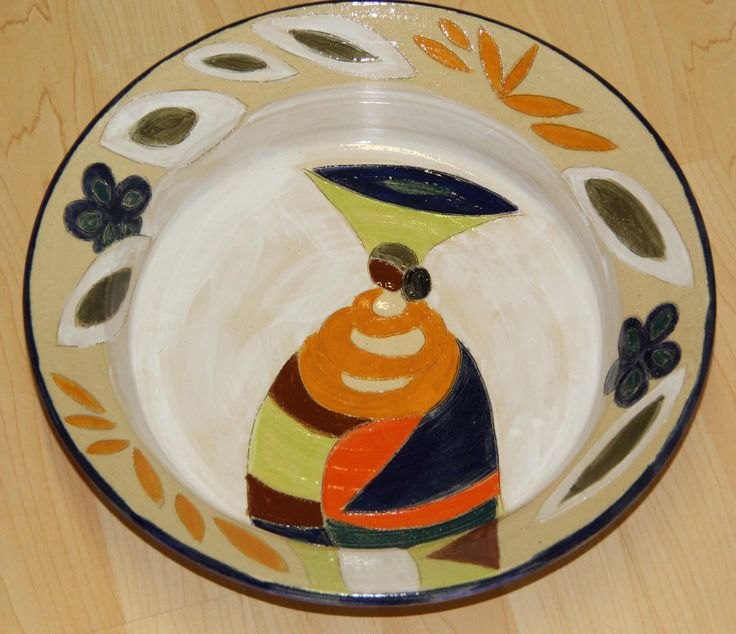 Lady of Africa hand thrown bowl - oven safe By Dana Cape Town Studio Potter