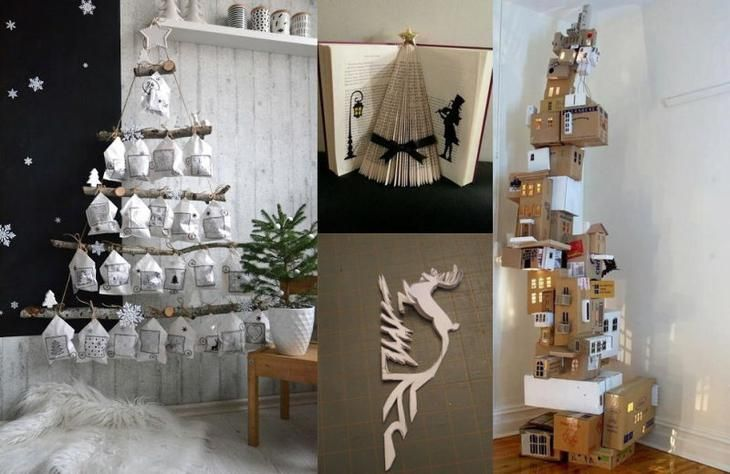 Создание новогоднего декора