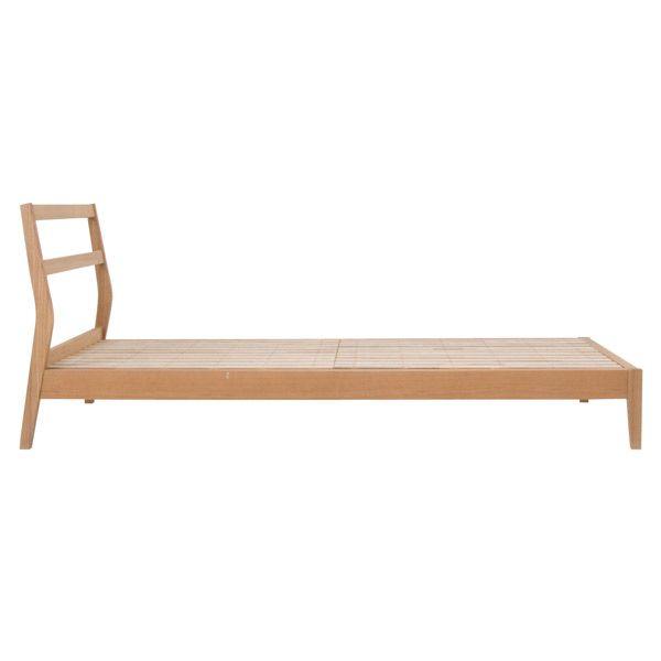 MUJI Online - Bentwood Ash double bed £295