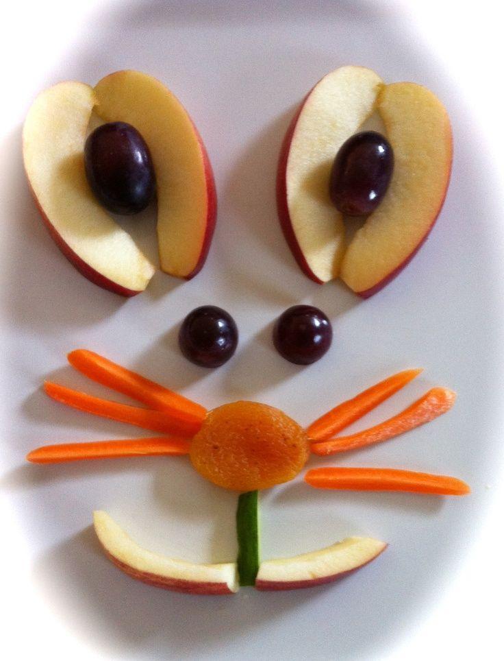 Bunny Fruit Plate
