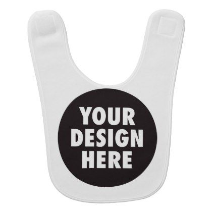 create your own custom product your design here baby bib create