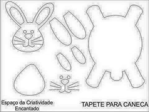 Portatazas conejo