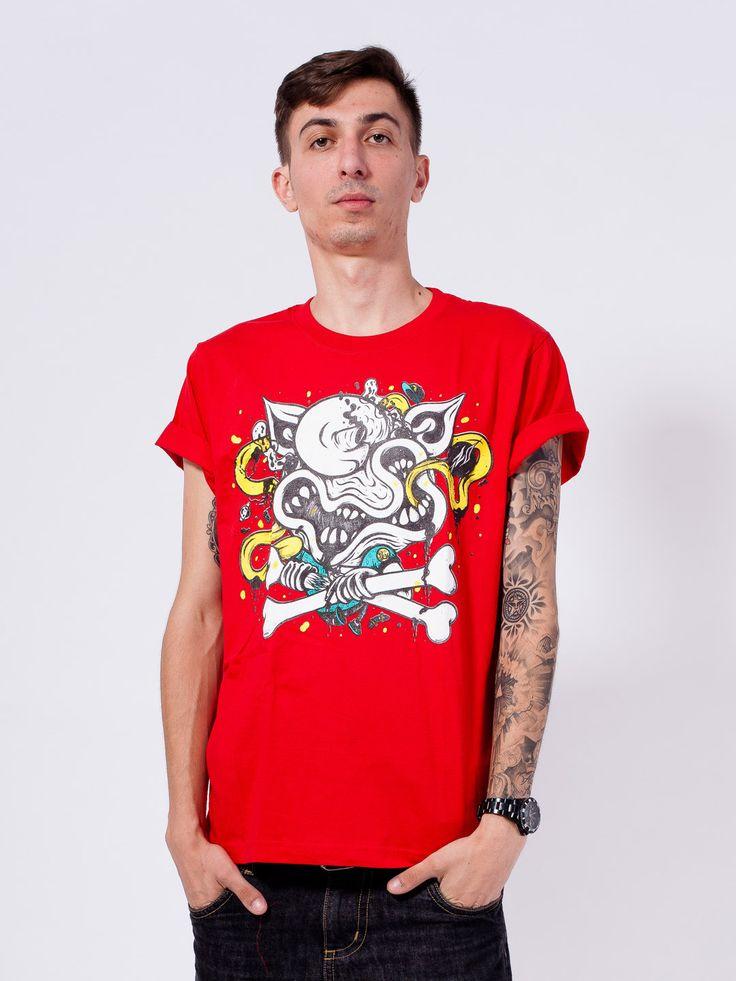 "RO X PORC – ""Bone Crusher"" Ltd. T-Shirt"