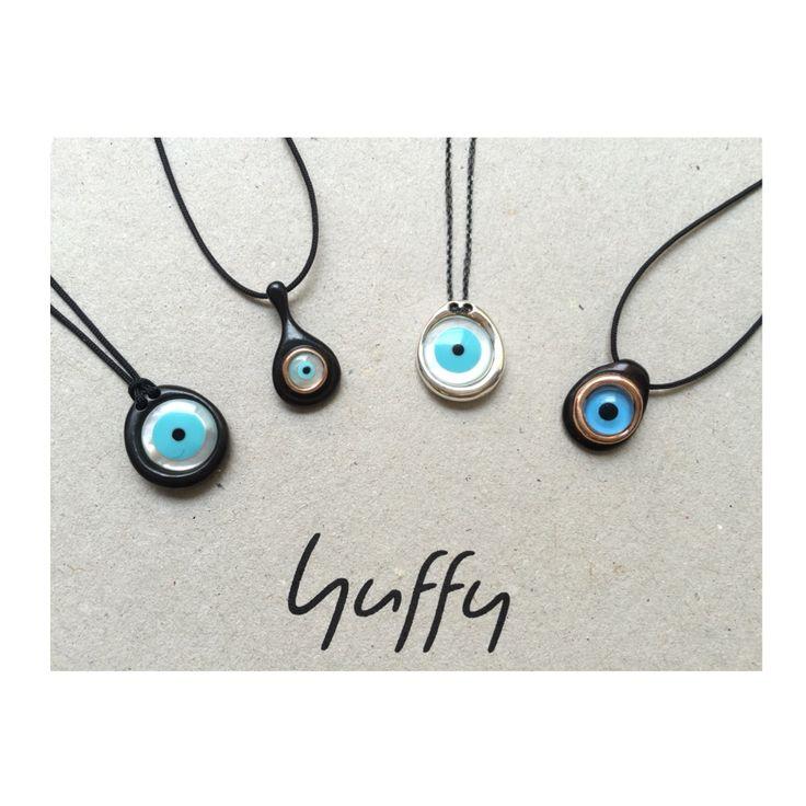 Pick your favorite! #evileye #eye #talisman #necklace #pendant #goodluck #protection #huffyjewels  www.huffyjewels.com