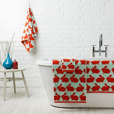 Best Bathroom Towels Images On Pinterest Bathroom Towels - Orange patterned towels for small bathroom ideas