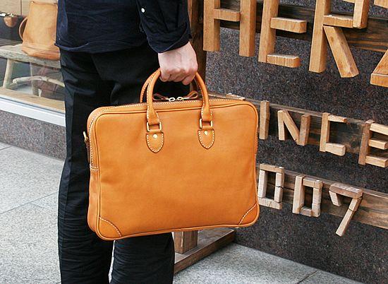 【楽天市場】ブリーフケースMサイズ手作り鞄工房HERZ(ヘルツ)[nouki]【楽ギフ_包装】《BW-15-M》upup7:ポルコロッソ-革の鞄と時計の店