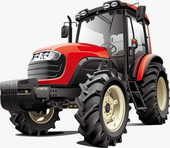 Man cave Garage Bedroom Tractor themed wall art decal