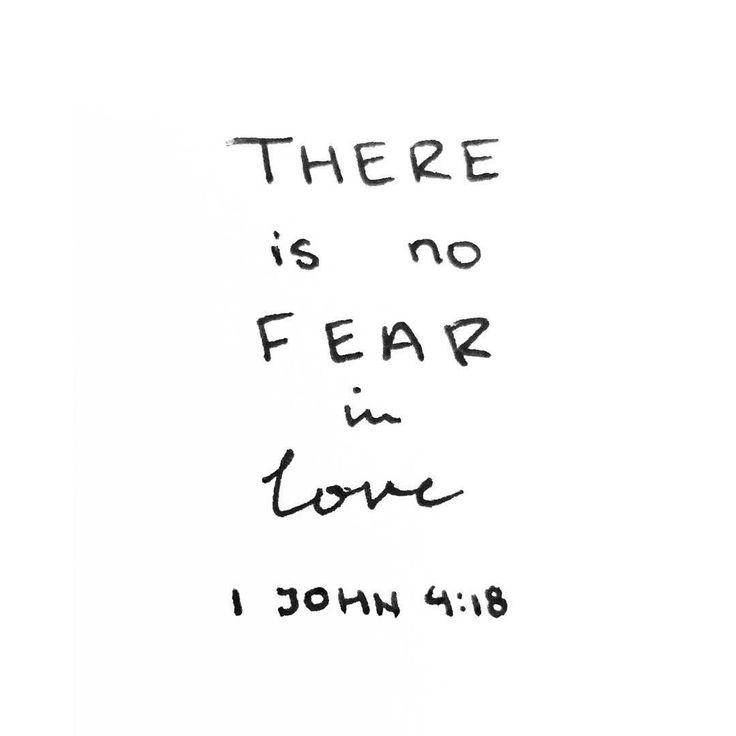 """I'm no longer a slave to fear I am a child of God."""