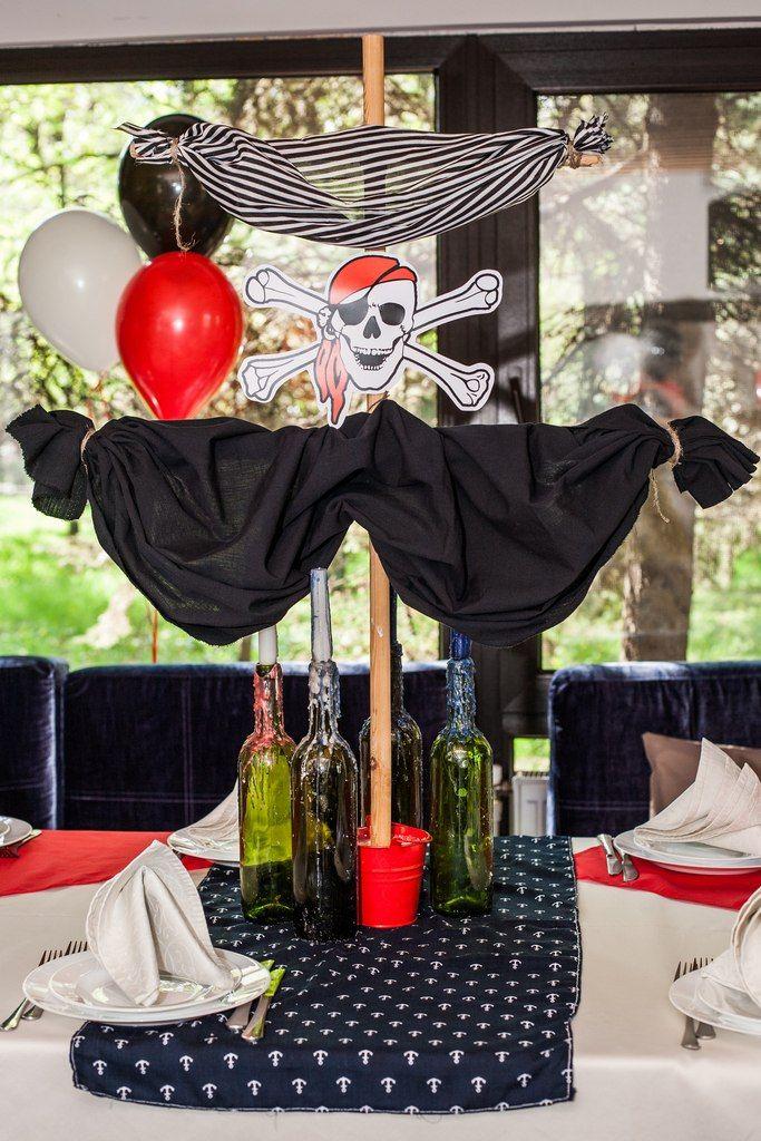 Оформление детского дня рождения в пиратском стиле. Студия декора Красота