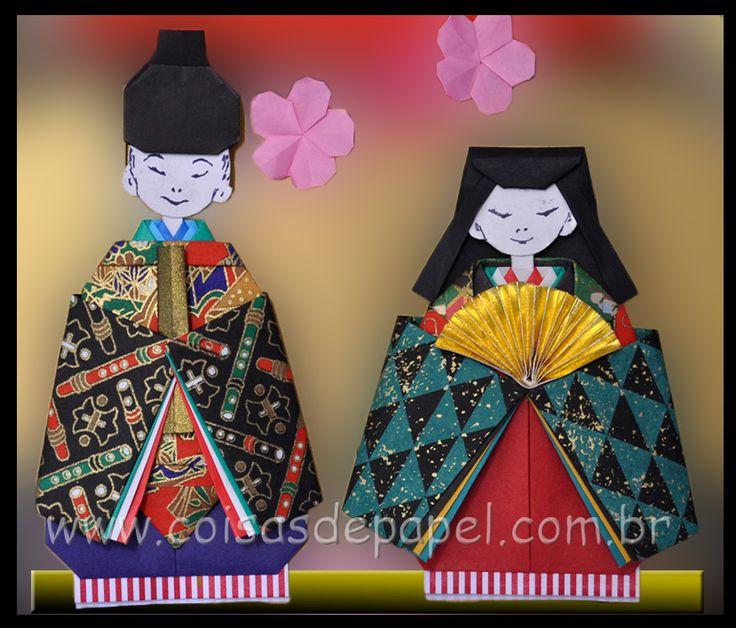 Imperador e Imperatriz  - Sakuras