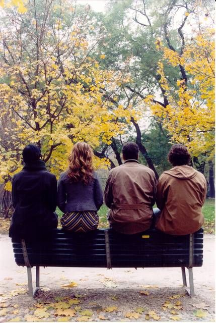 Parco Sempione verde e marrone.. Milano d'autunno... ah..