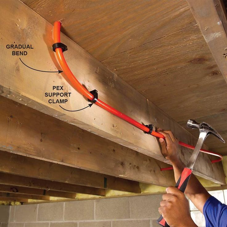 17 best ideas about pex tubing on pinterest plumbing for Pex water line problems