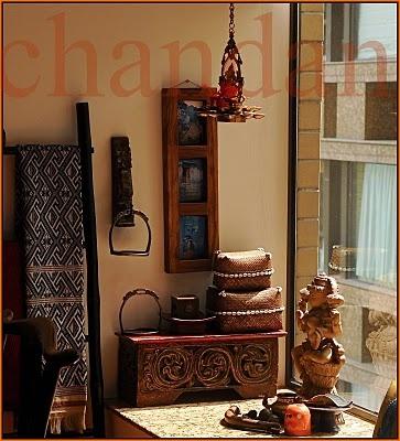 love this corner ...Chandan's home