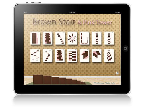 Les apllications iPad Montessori