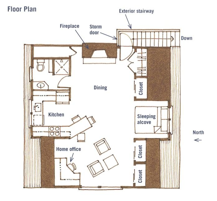 Studio Apartment Plan 91 best apartments above garages images on pinterest | garage