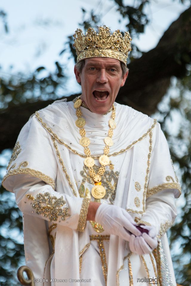 Hugh Laurie King of Bacchus 2014