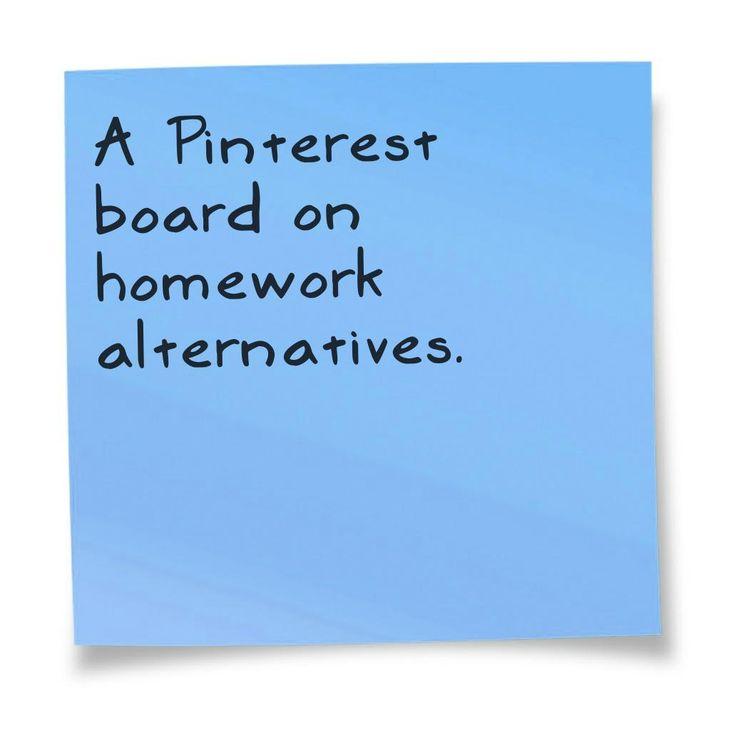 alternatives to homework