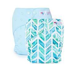 EcoNaps Modern Cloth Nappy Trial Packs | Designer Modern Cloth Nappy Diaper Prints hand designed in Byron Bay, Australia.