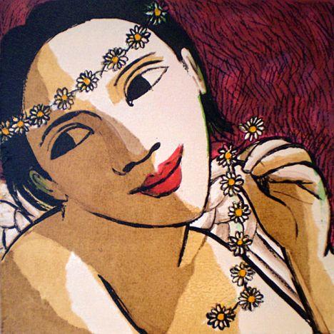 Anita Klein Beautiful Daisy Angel